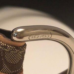 Coach Accessories - Coach brown signature logo belt
